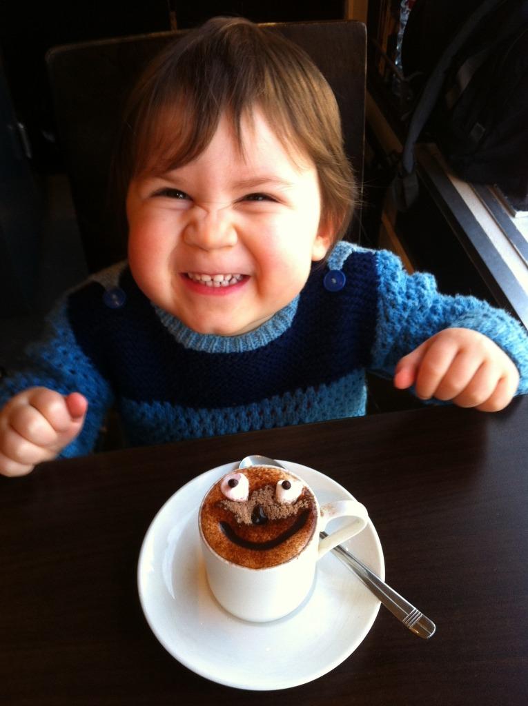 Heiße Schokolade ist wie eine Umarmung von Innen!